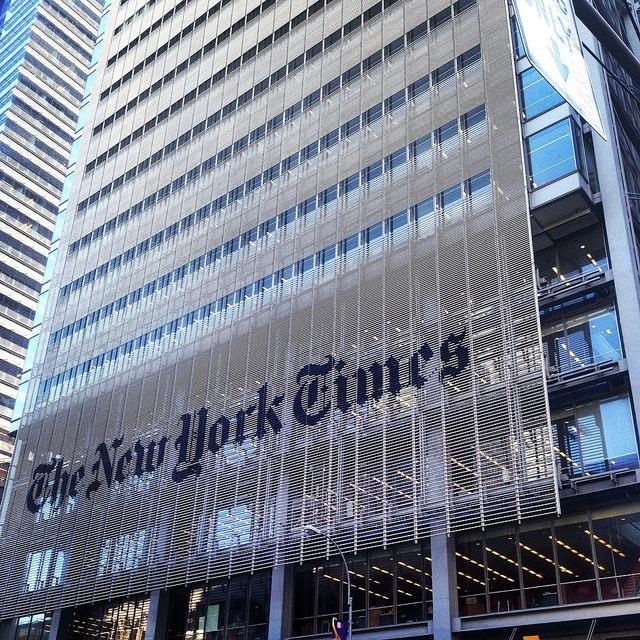 The New York Times Building Manhattan Nowy Jork