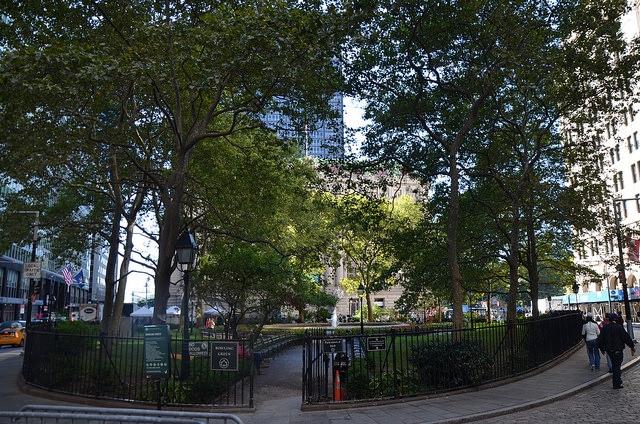Bowling Green Park, Manhattan, Nowy Jork, USA