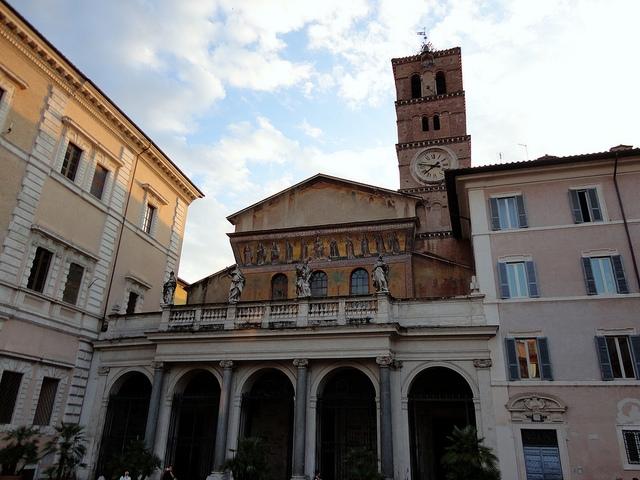 Rzym Basilica di Santa Maria Trastevere