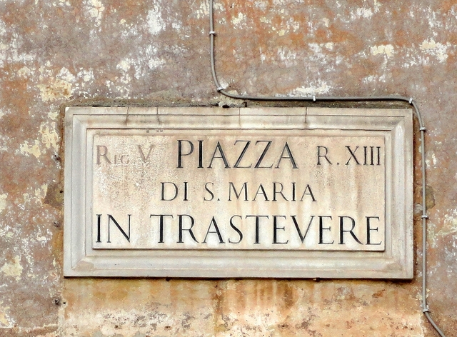 Piazza di Santa Maria Trastevere