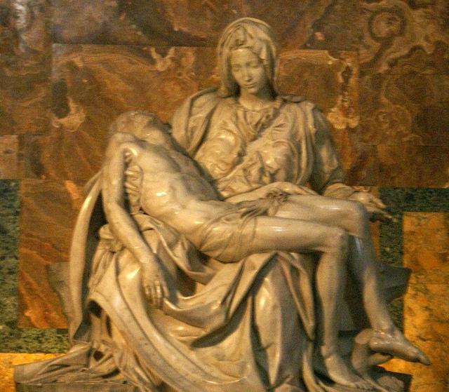 Rzym Bazylika Św. Piotra Pieta Michała Anioła