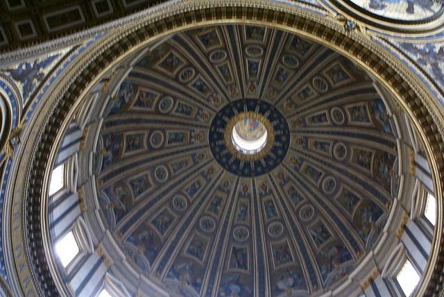 Rzym Bazylika Św. Piotra kopuła