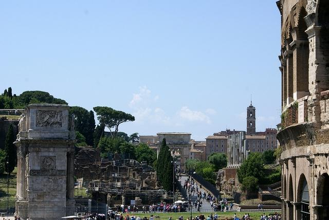 Rzym Forum Romanum
