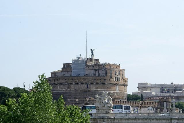 Rzym Zamek św. Anioła Castel Sant Angelo