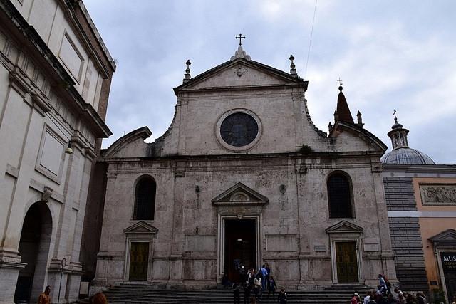 Bazylika Santa Maria del Popolo, Rzym, Włochy