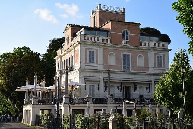 Casina Valadier Pincio, Rzym, Włochy