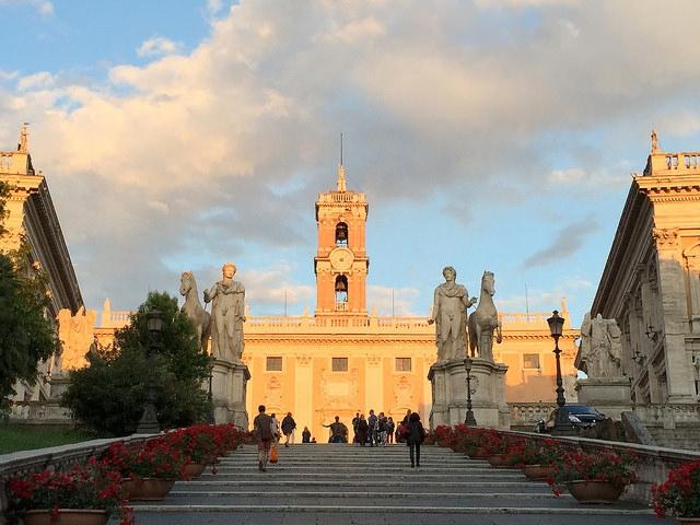 Cordonata, Rzym, Włochy