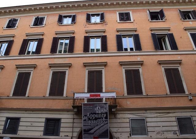 Goethe House, Via del Corso 18, Rzym, Włochy