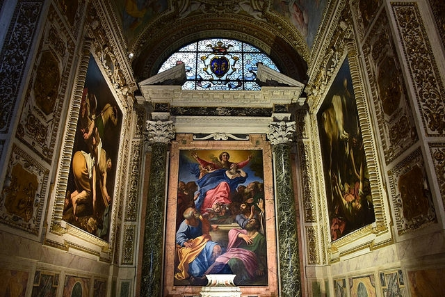 Kaplica Cerasi, Bazylika Santa Maria del Popolo, Rzym, Włochy