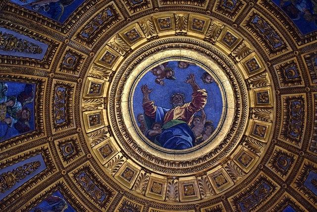Kaplica Chigich, Bazylika Santa Maria del Popolo, Piazza del Popolo, Rzym, Włochy