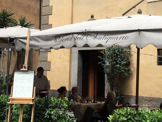 Osteria dell'Antiquario, Rzym, Włochy