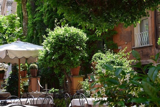 Restauracja Santa Lucia, Largo di Febo 12, Rzym, Włochy
