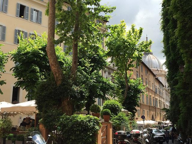Restauracja Santa Lucia, Rzym, Włochy