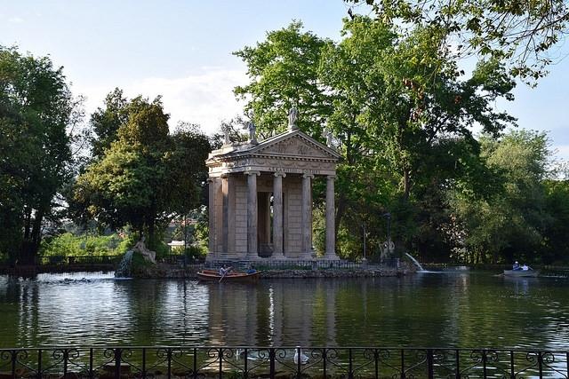 Tempio di Esculapio (Villa Borghese), Rzym, Włochy