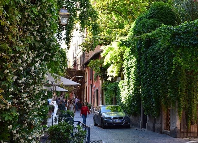 Via Margutta, Rzym, Włochy