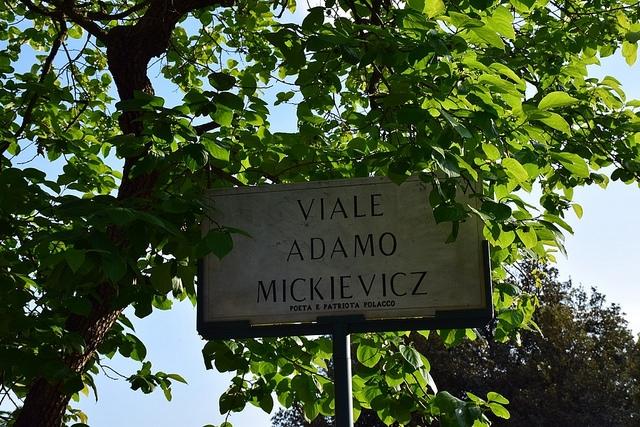 Viale Adamo Mickievicz, Pincio, Rzym, Włochy