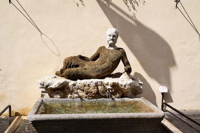 il Babuino, Rzym, Włochy