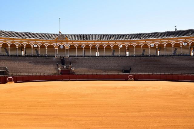 Arena Plaza de Toros de la Maestranza Sewilla Hiszpania