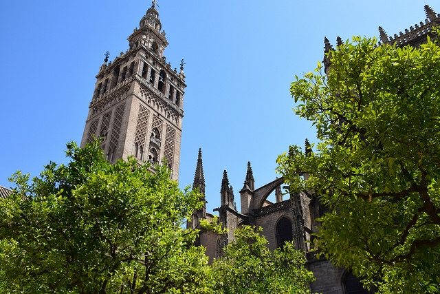 Dzwonnica Katedry w Sewilli La Giralda Hiszpania