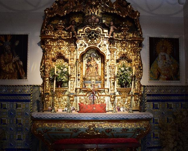 Kaplica Plaza de Toros de la Maestranza Sewilla Hiszpania
