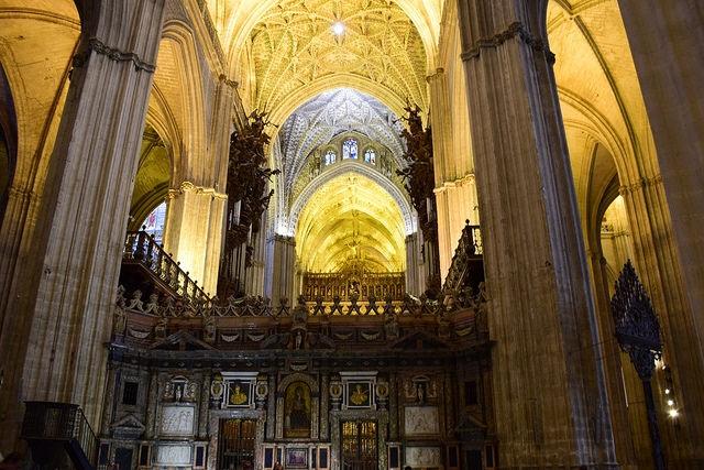 Katedra w Sewilli Hiszpania