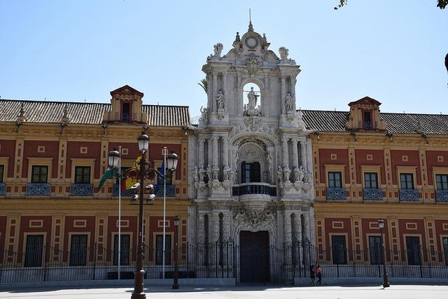 Palacio de San Telmo Sewilla Hiszpania