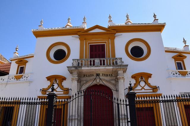Plaza de Toros de la Maestranza Sewilla Hiszpania