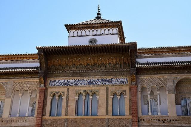Real Alcázar Sewilla Hiszpania