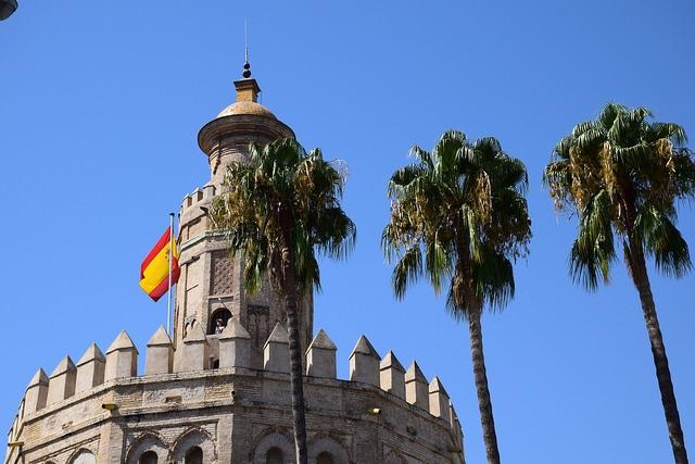 Torre del Oro Sewilla Hiszpania