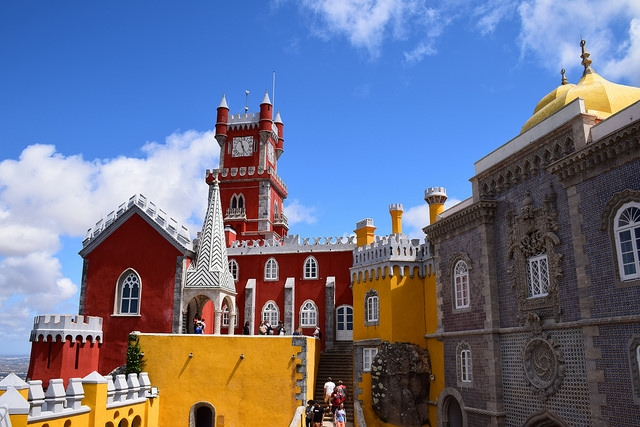 Palacio da Pena Sintra Portugalia