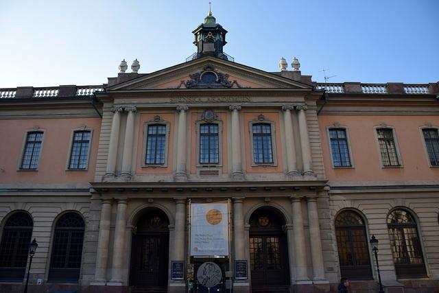 Muzeum Nobla Sztokholm Szwecja