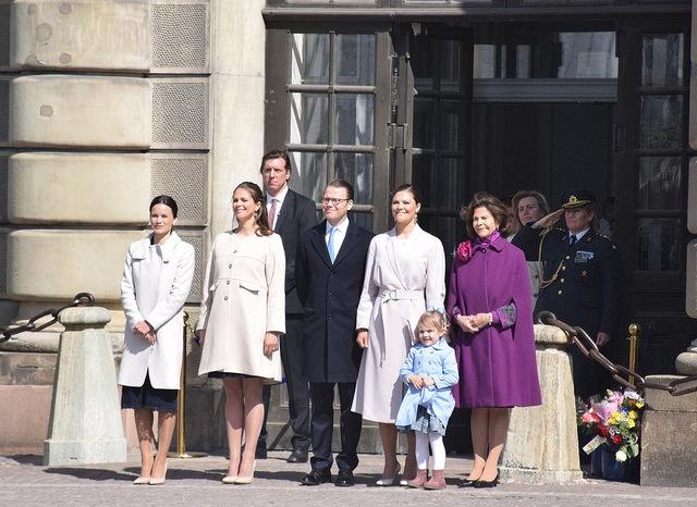 Rodzina Królewska Sztokholm Szwecja