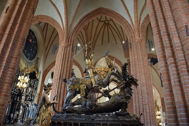 Storkyrkan Sztokholm Szwecja