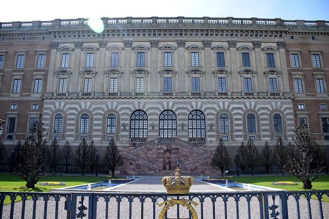 Zamek Królewski Sztokholm Szwecja