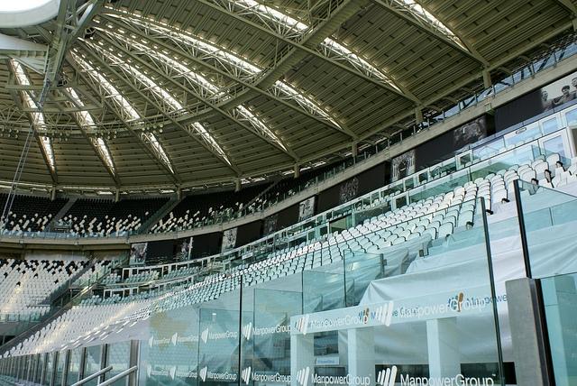 Juventus Stadium Turyn Włochy