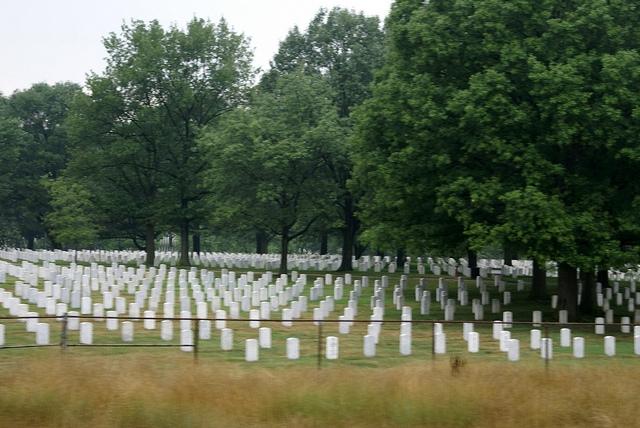 Arlington National Cemetary Waszyngton