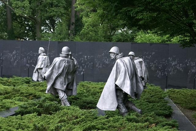 Korean War Veterans Memorial Waszyngton