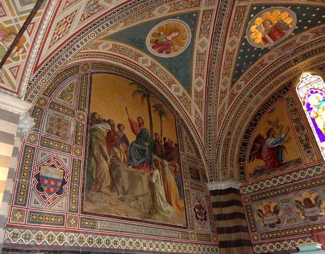 Zamek Brolio Toskania Włochy